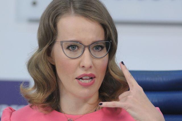 Ксения Собчак вернулась на пост главреда журнал L'Officiel