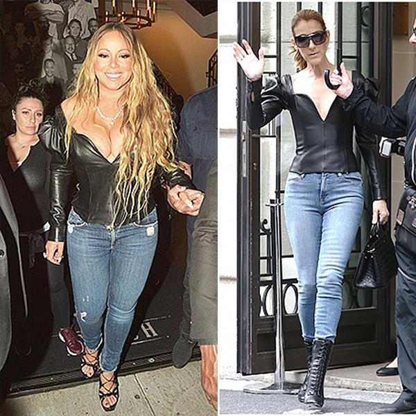 Модная битва: звезды-пышки и худышки в одинаковых нарядах. Кто лучше?