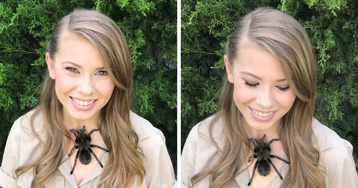 Someone Called This Girl Stupid For Putting A Tarantula On Her Chest, Then Saw Her Last Name
