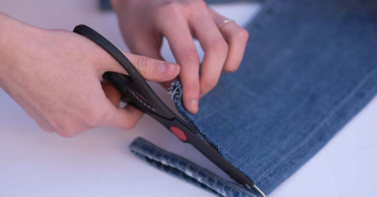5 простых способов обновить старые джинсы
