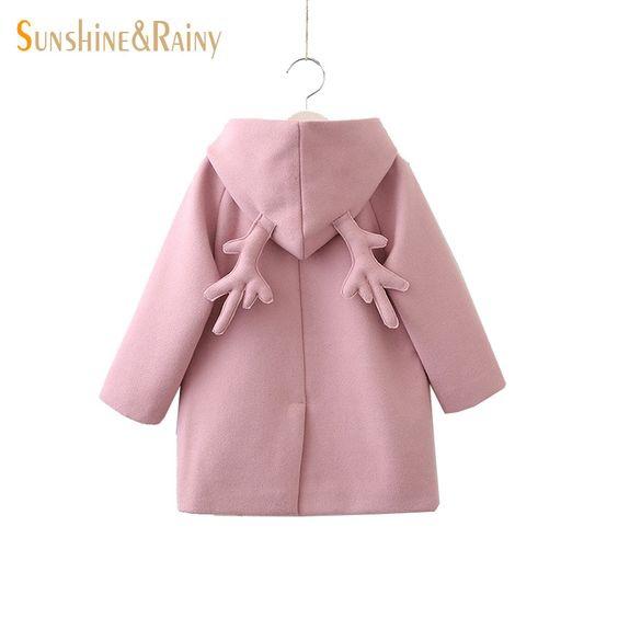 Пальто с рожками
