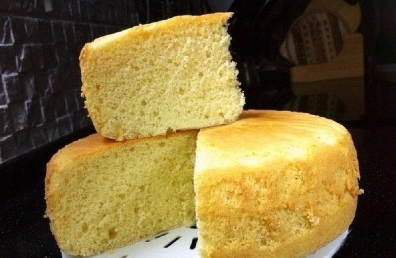 Как испечь самый простой бисквит