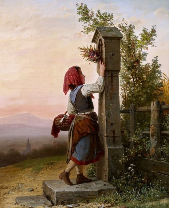 художник Иоганн Георг Майер фон Бремен (Johann Georg Meyer von Bremen) картины – 20