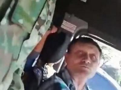 В Запорожье водитель маршрутки отказался везти АТОшника: «Не можете два города ср*ных освободить»