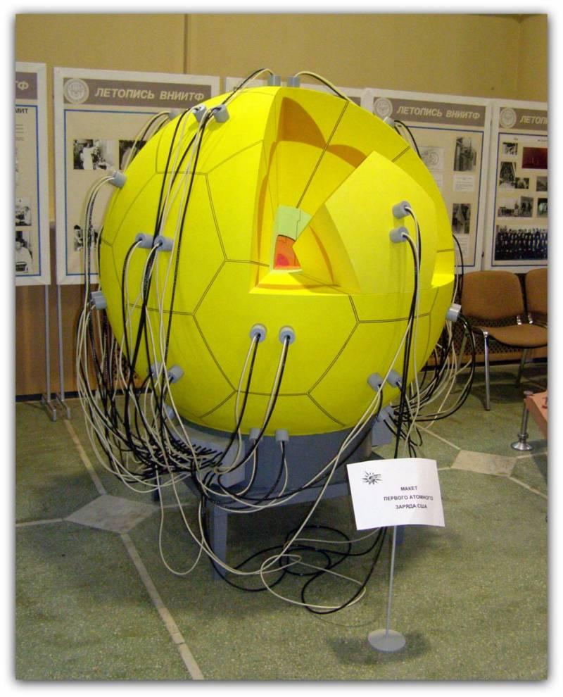 Развитие конструкций ядерных зарядов