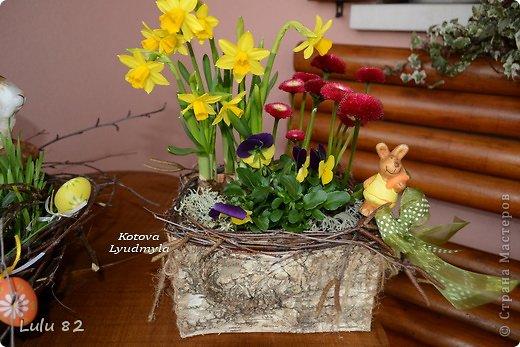 Скоро Пасха, во многих странах символом этого праздника является пасхальный заяц. Вот я и решила его сделать. . Фото 17