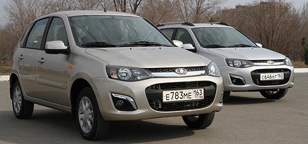 Lada Kalina получила АКП в базовой версии