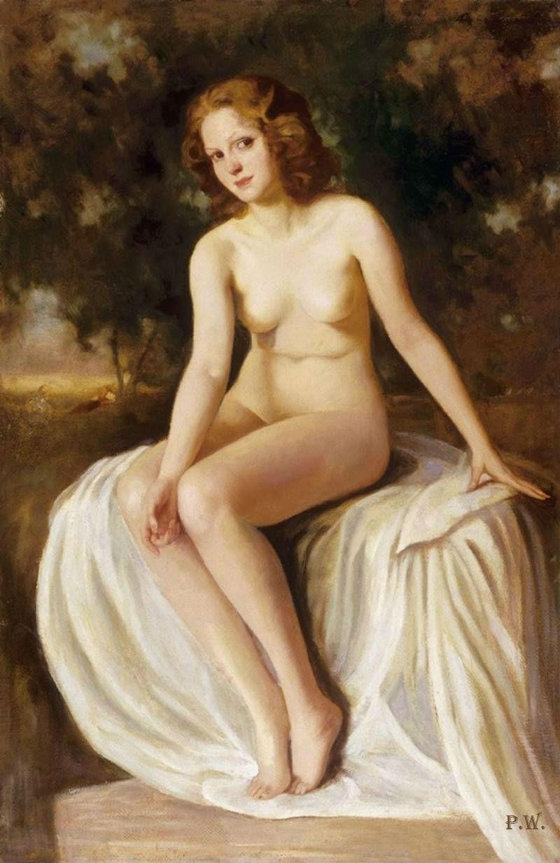 Венгерская художница Maria Szantho.