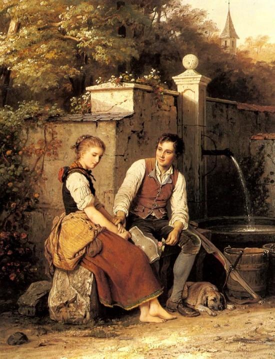 художник Иоганн Георг Майер фон Бремен (Johann Georg Meyer von Bremen) картины – 26