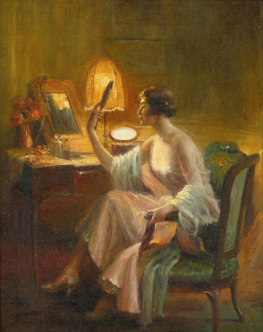 Дельфин Анжольра (Delphin Enjolras; 1857-1945) - французский художник академической живописи