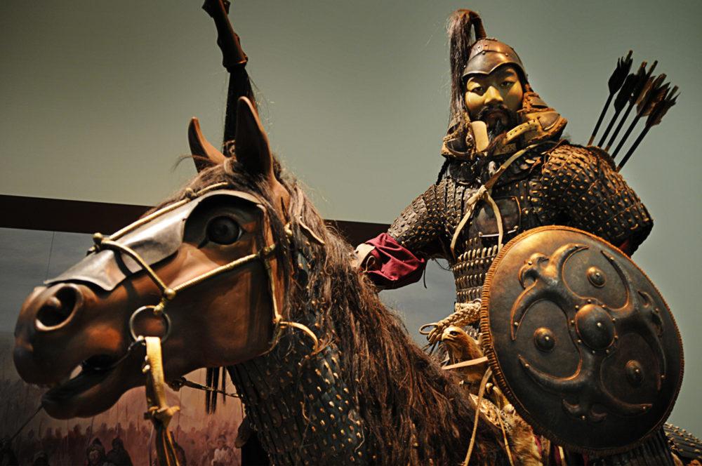 как ермаку монголы на верность присягали шерстью это вообще