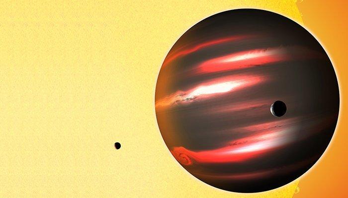 14. TrES-2 b - чернее угля вселенная, интересное, космос, подборка, экзопланета