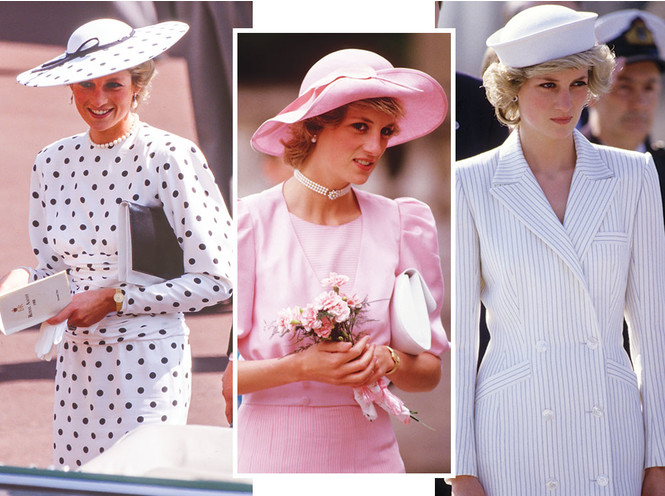 Самые известные шляпы принцессы Дианы, которые вошли в историю