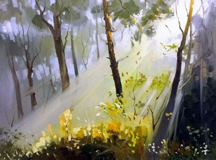 Художник Валерий Маковой. Свежий ветер Рижского залива