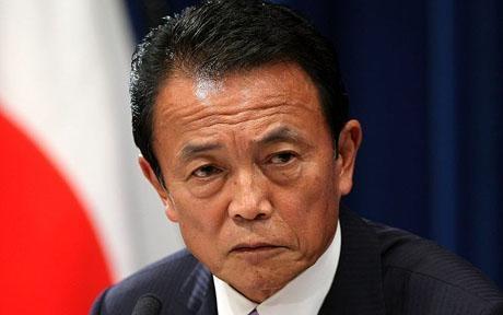 Глава минфина Японии призвал поучиться у нацистов