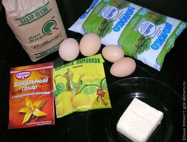 Как приготовить безе с кремом