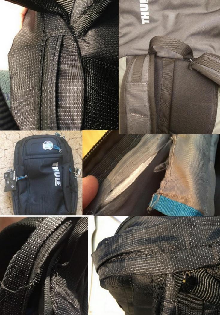 Честный отзыв про рюкзак и коляску THULE: ужас