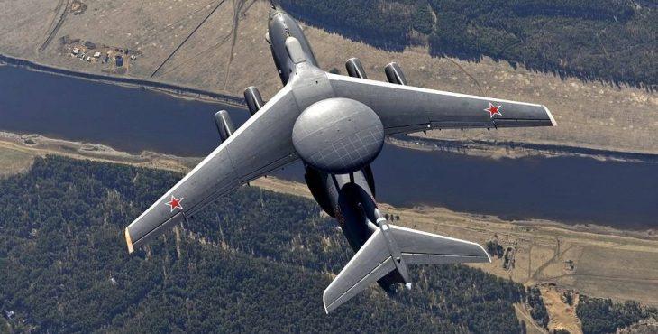 Российский летающий радар А-100