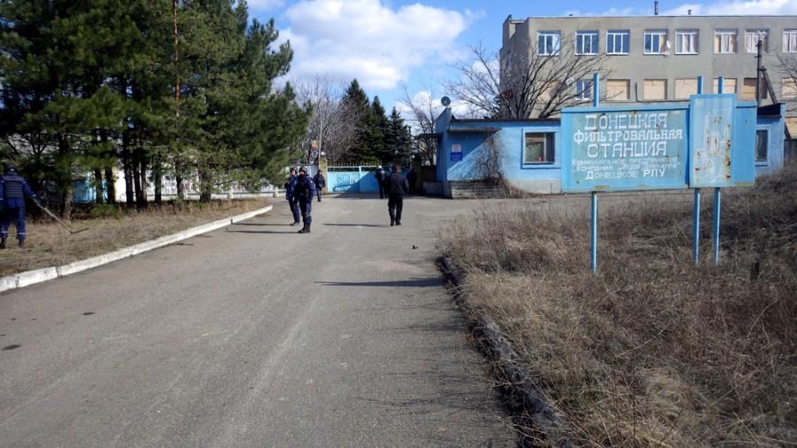Украинские войска открыли огонь в направлении ДФС во время установки там камеры видеонаблюдения