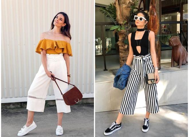 10 способов носить капри летом — смотрим модную фотоподборку