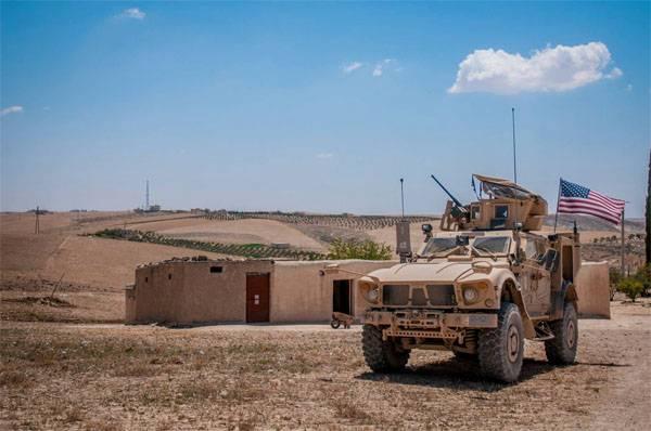 Странное заявление главы МИД Турции о контингенте США в Сирии