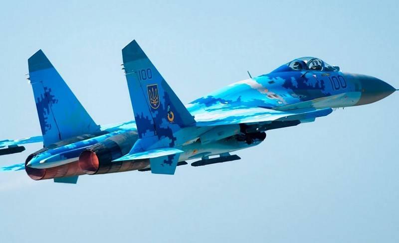 В Житомирской области разбился истребитель Су-27 ВВС Украины