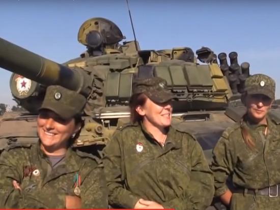 Командир женского танкового …