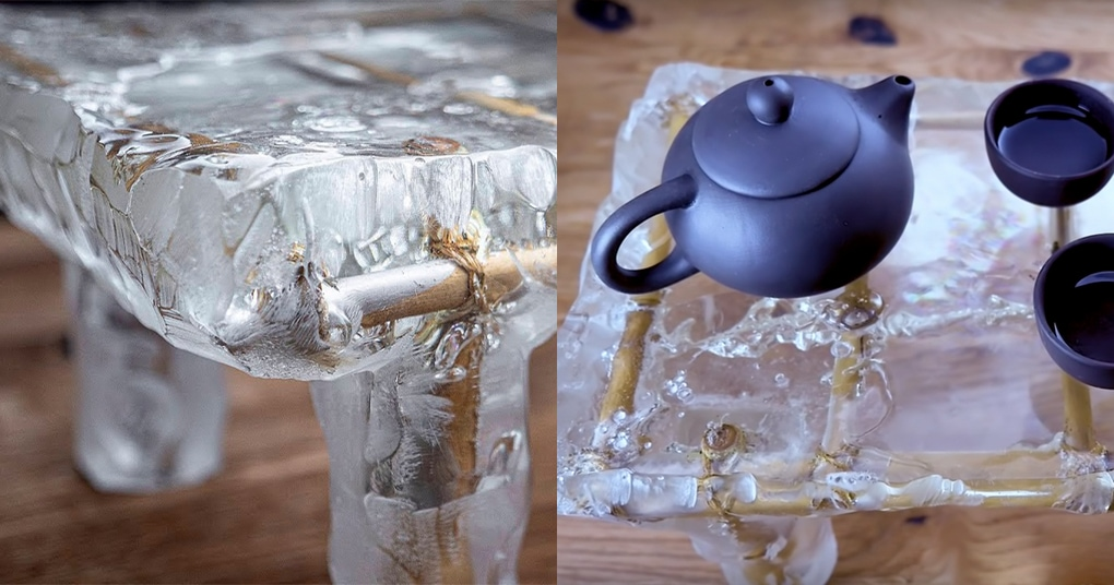 Невероятный столик из кипящей эпоксидки, который поразит воображение