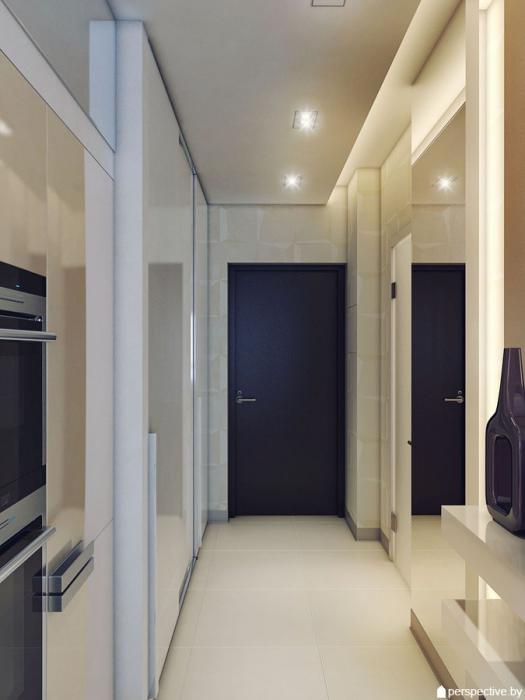 Проект однокомнатной квартиры в Питере