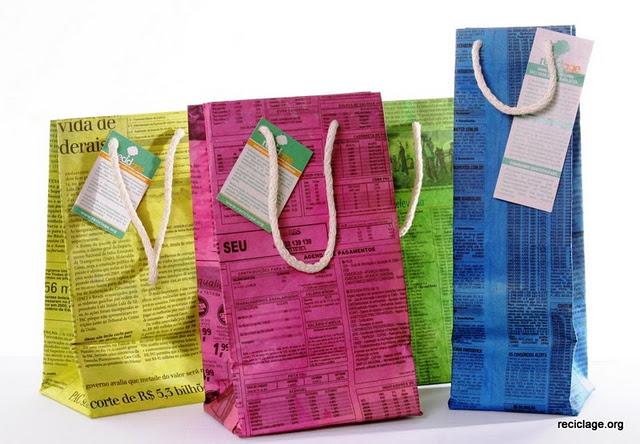Подарочный пакет своими руками из обоев