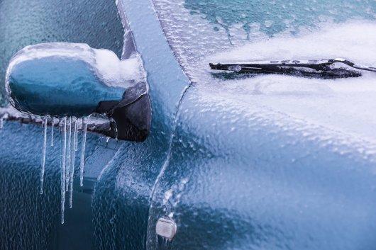Что делать если автомобиль покрылся льдом?