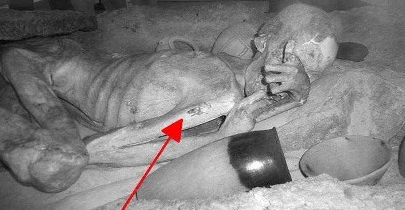 Ученые обнаружили татуировки на древних египетских мумиях