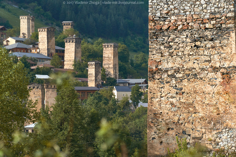13 фактов о Сванских башнях путешествия, факты, фото