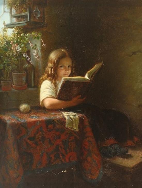художник Иоганн Георг Майер фон Бремен (Johann Georg Meyer von Bremen) картины – 23