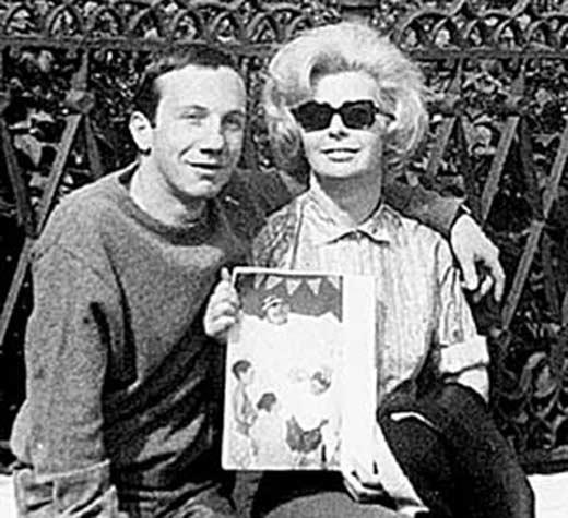 Савелий Крамаров с гражданской женой Марией