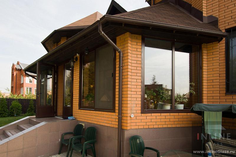 Дизайн кирпичных пристроек к дому
