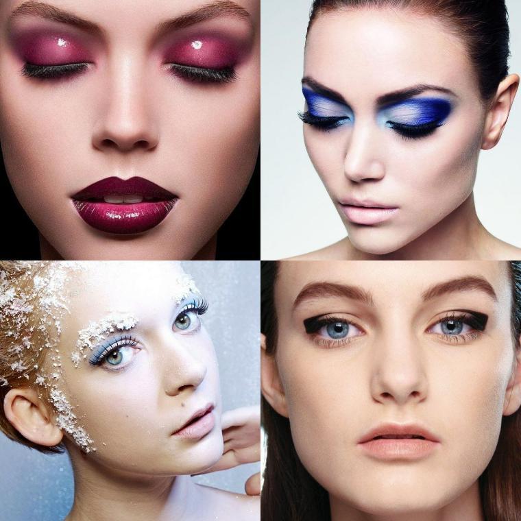 Новогодний макияж 2019: фото праздничного мейкапа