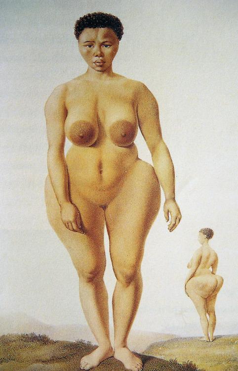 ним теперь большие ягодицы большая грудь узкая талия африканские племена бушмены ним был раза