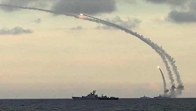 Корабли ВМФ нанесли удары ракетами «Калибр» по объектам ИГ в Сирии
