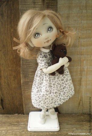 Выкройки текстильных кукол о…