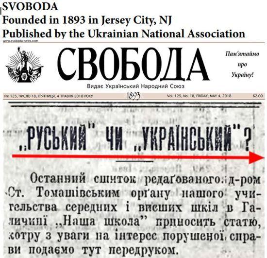 Украина — антироссийский проект США
