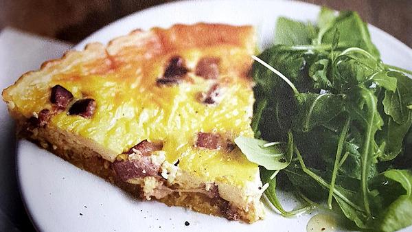 Киш лорен: рецепт пирога с беконом и яйцами от шеф-повара Рейчел Ку