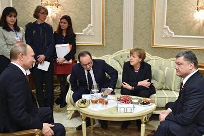 Недоброе предзнаменование для Порошенко приключилось на Минских переговорах