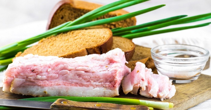 Рецепт вкусного моченого сала