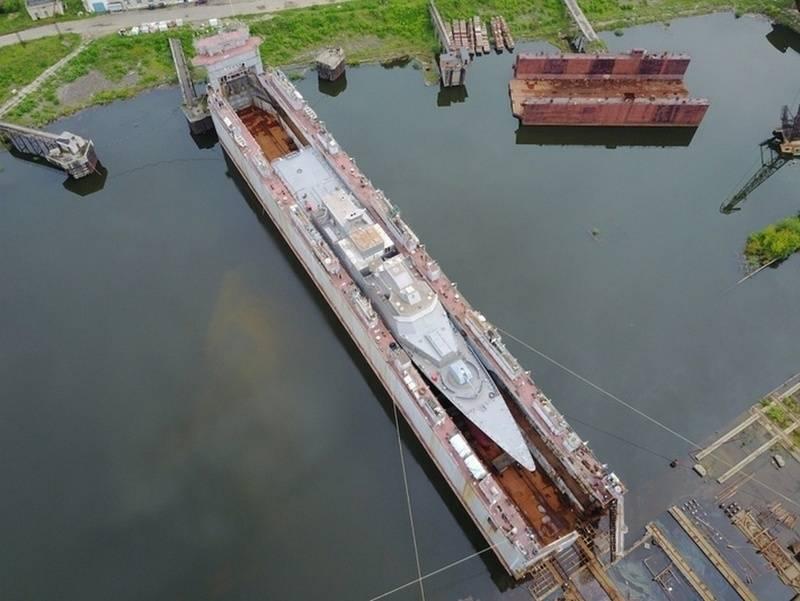 """Новый корвет """"Громкий"""" проекта 20380 прибыл на главную базу ТОФ"""