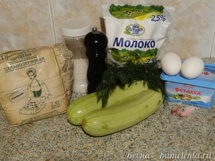 Приготовление рецепта Запеканка из кабачков с фетой шаг 1