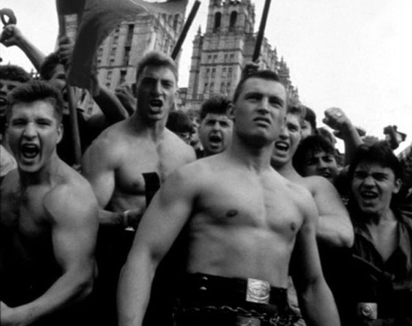 как любера встали на пути поклонников Гитлера