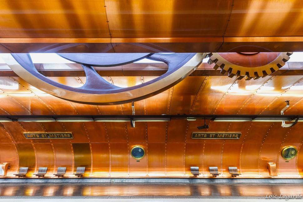 MetroStations20 17 самых волшебных станций метро со всего мира