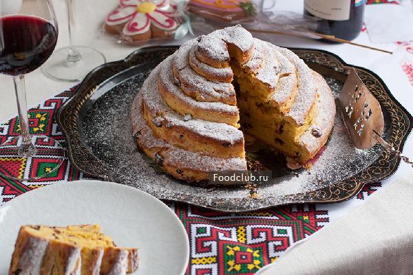 Русский пасхальный пирог — кулич (Kulitsch)