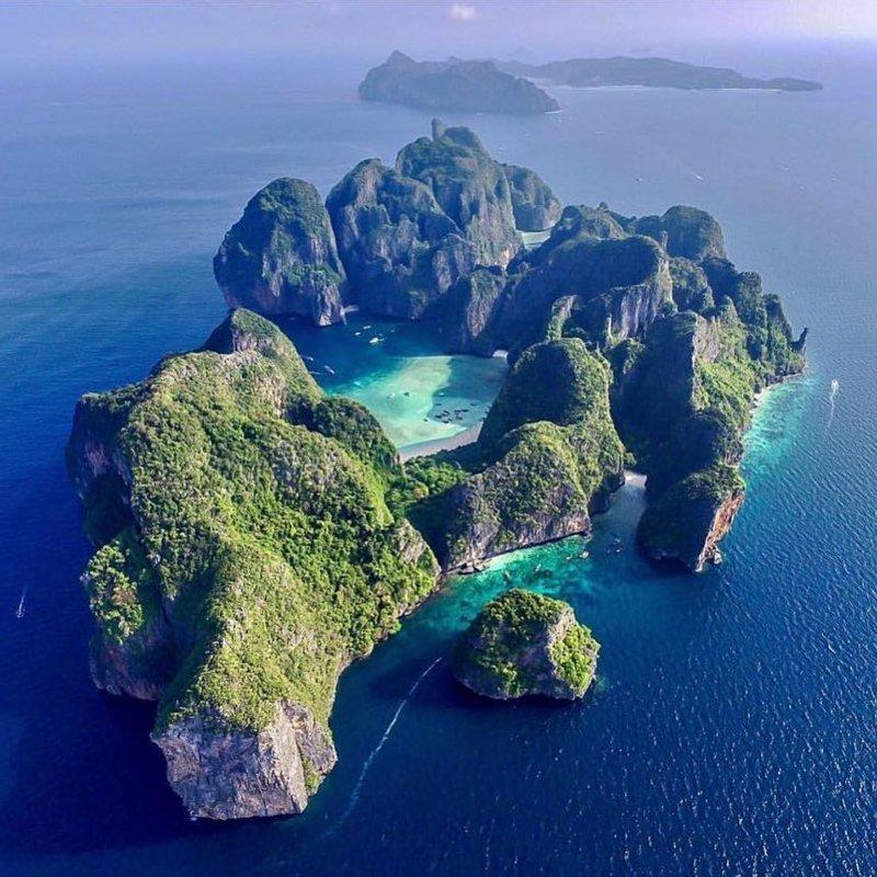 Koh Phi Phi Lee, Thailand красивые места, мир, планета, природа, путешествия
